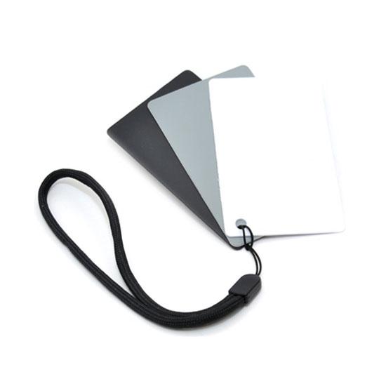 JJC 3in1 Digital Gray Card & White Balance