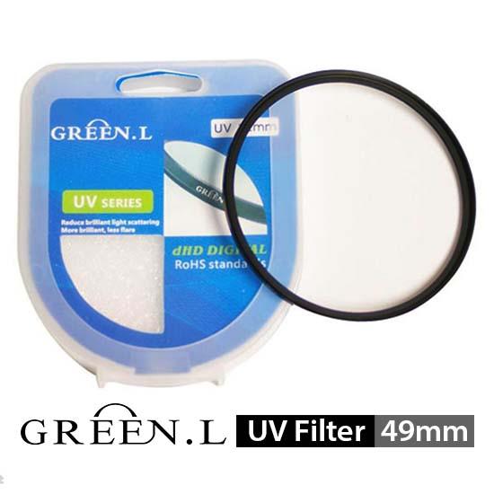 jual Green L UV Filter 49mm surabaya jakarta