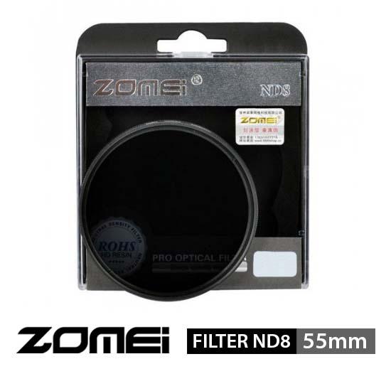 Jual Zomei Filter ND8 55mm surabaya jakarta