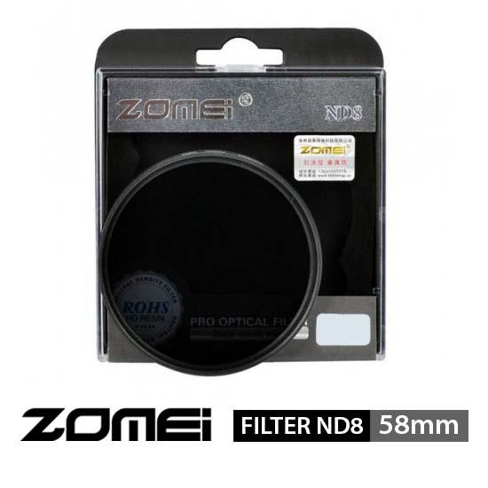 Jual Zomei Filter ND8 58mm surabaya jakarta