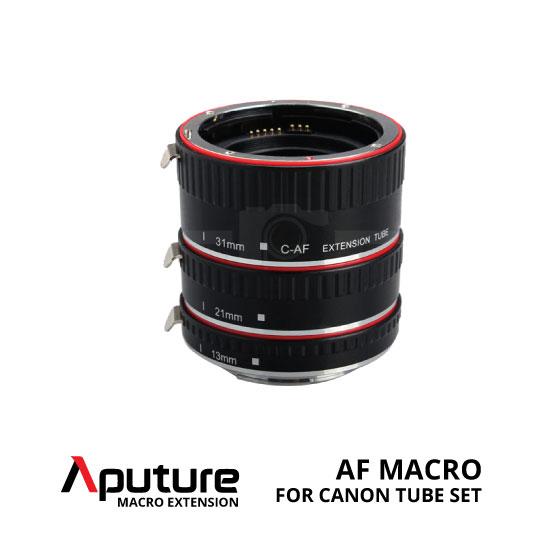 jual Aputure AF Macro Extension Tube Set Canon