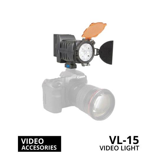 jual ATT Video Light VL-15 Illuminance 400 – 600 LM