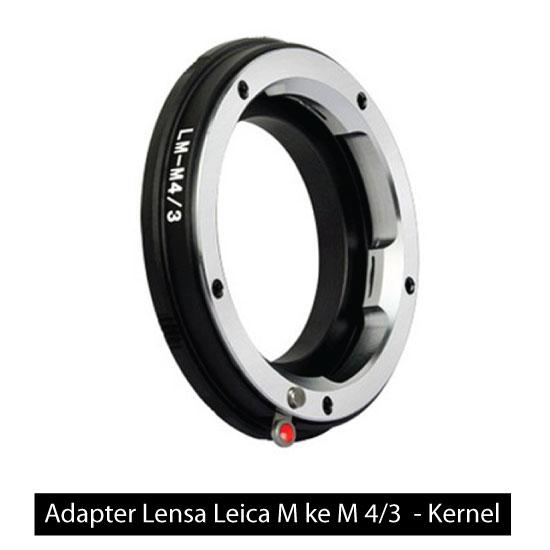 Jual Adapter Lensa Leica M ke M 4/3 – Kernel