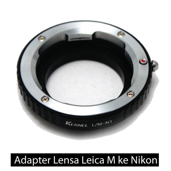 Jual Adapter Lensa Leica M ke Nikon I – Kernel