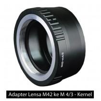 Jual Adapter Lensa M42 ke M 4/3 – Kernel