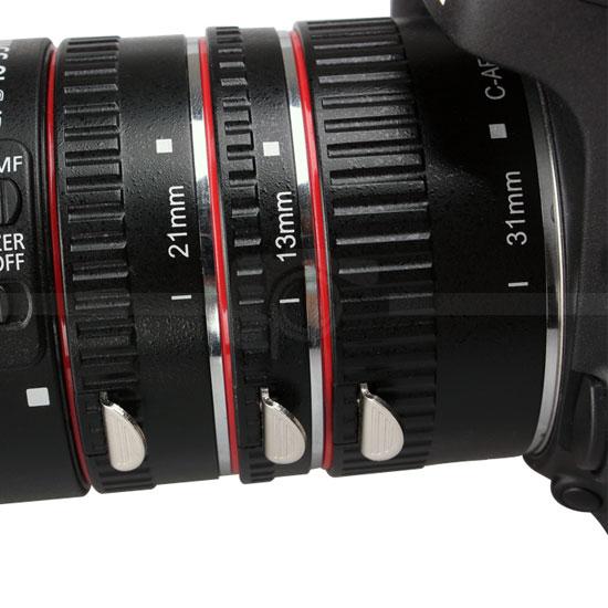 Aputure AF Macro Extension Tube Set Canon