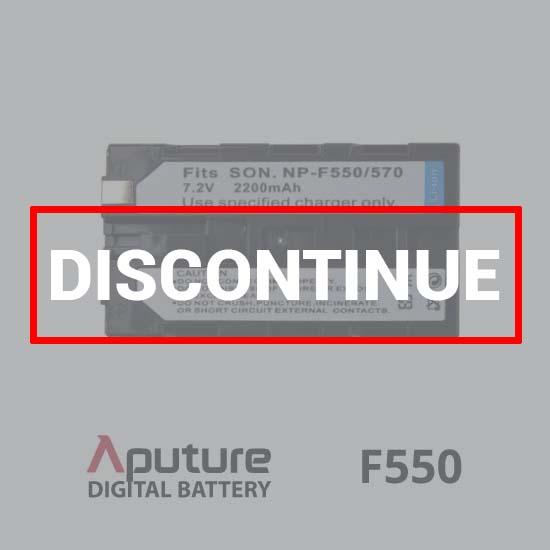 Aputure Battery F550 discontinue