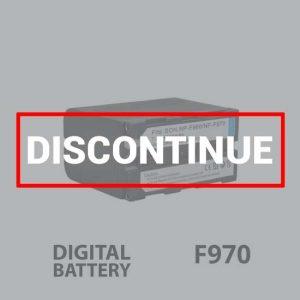 Aputure Battery F970 discontinue
