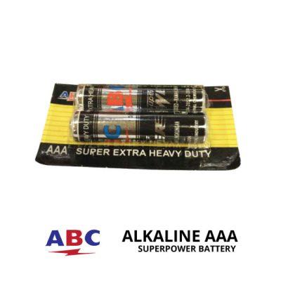 jual Baterai ABC Super Power 2pcs AAA