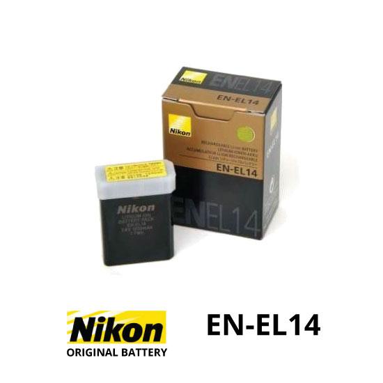 jual Baterai Original Nikon EN-EL14