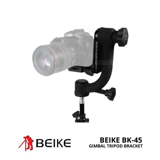 jual Beike BK-45 Gimbal Tripod Head Camera Bracket