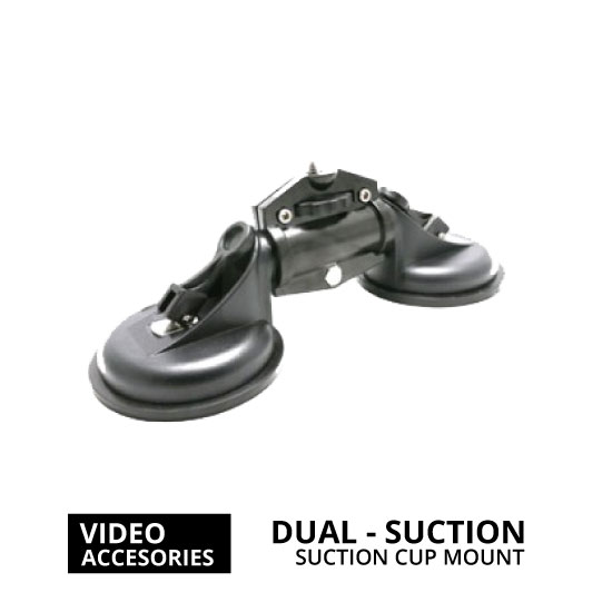 jual Dual Suction Cup Camera Mount