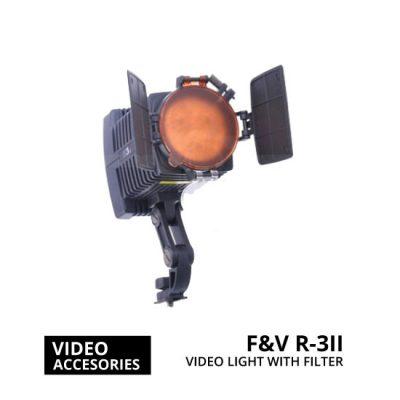 jual F&V R-3II LED Camcorder DV Video Light with Filter