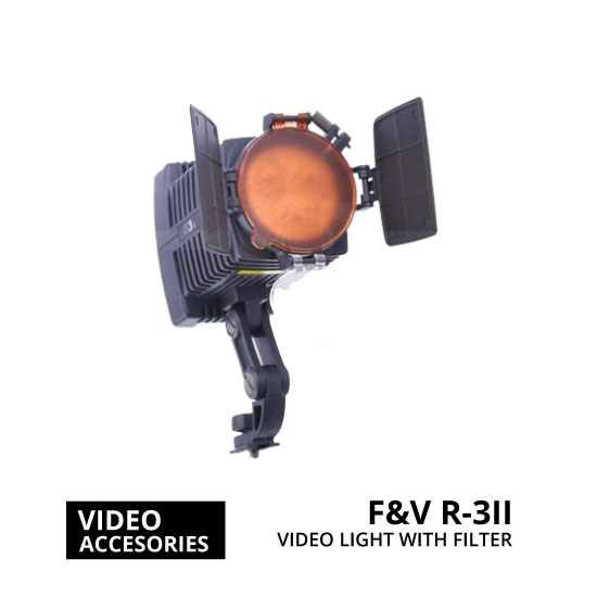 jual F&V R-3II LED Camcorder DV Video Light with Filter