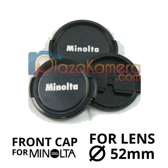 jual Front Cap Minolta 52mm