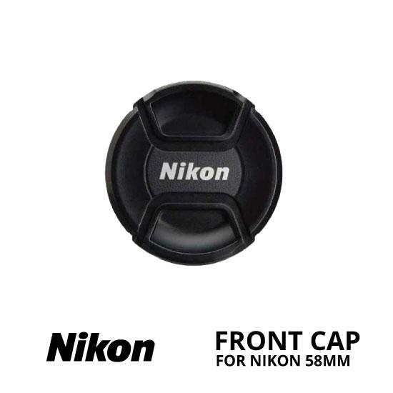 jual Front Cap Nikon 58mm