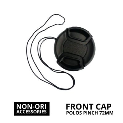 jual Front Cap Polos Center Pinch 72mm