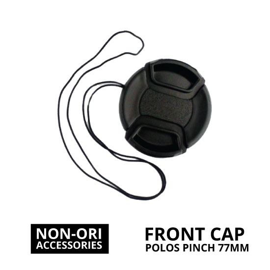 jual Front Cap Polos Center Pinch 77mm