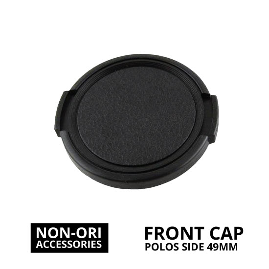 jual Front Cap Polos Side Pinch 49mm