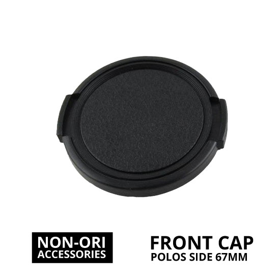 jual Front Cap Polos Side Pinch 67mm