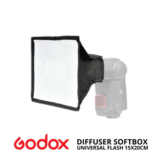 jual Godox 15x20cm Universal Flash Diffuser Softbox