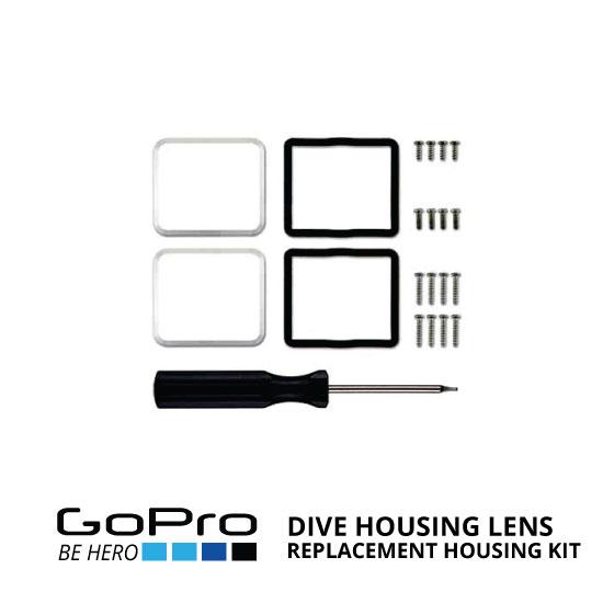 jual GoPro Dive Housing Lens Replacement Housing Kit ALNRK-301