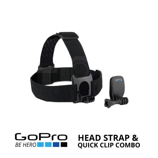 jual GoPro Head Strap & Quick Clip Combo ACHOM-001