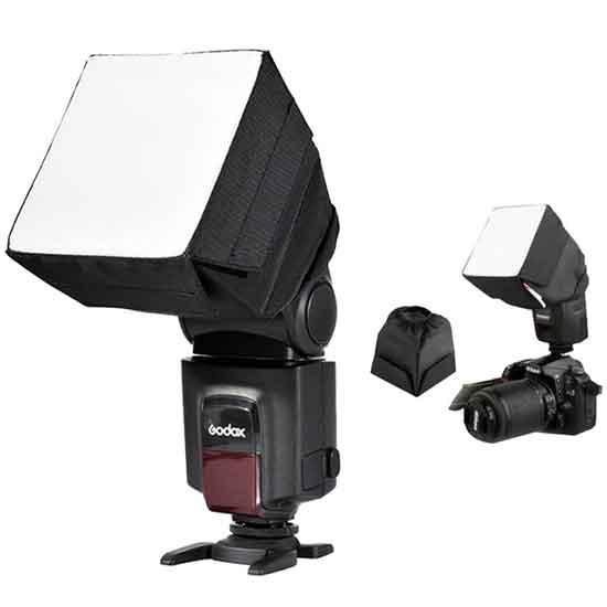 jual Godox 10x10cm Universal Flash Diffuser Softbox