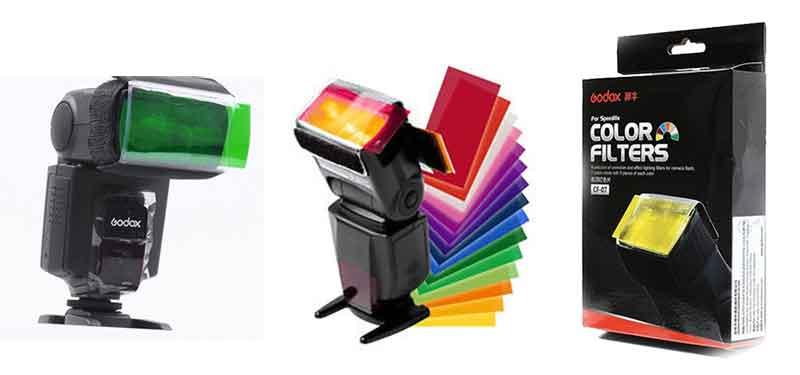 jual Godox CF-07 Flash Color Gel Filter (7 Colors)