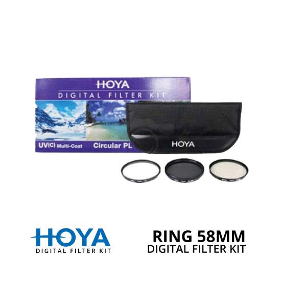 jual HOYA Filter Digital Filter Kit 58mm