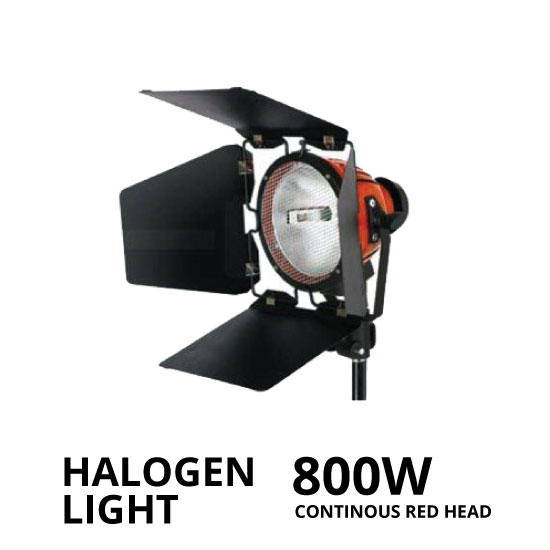 jual Halogen Light 800W Continuous Red Head