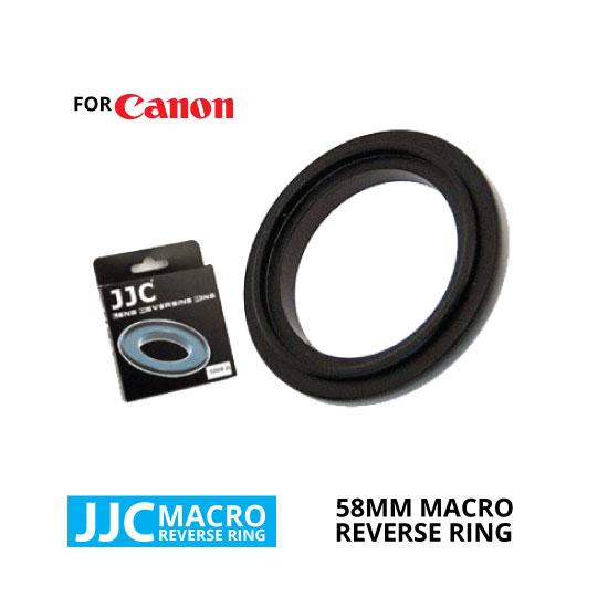 jual JJC Macro Reverse Ring for Canon 58mm