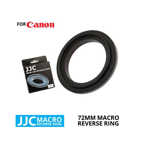 jual JJC Macro Reverse Ring for Canon 72mm