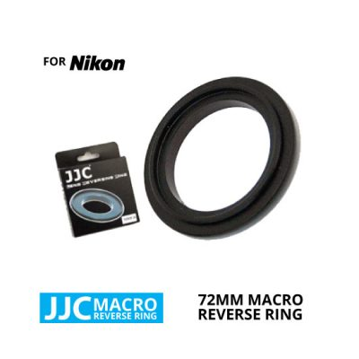 jual JJC Macro Reverse Ring for Nikon 72mm