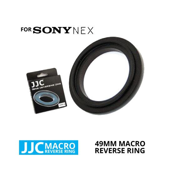 jual JJC Macro Reverse Ring for Sony NEX 49mm
