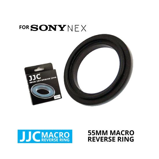 jual JJC Macro Reverse Ring for Sony NEX 55mm