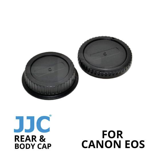 jual JJC Rear and Body Cap Canon
