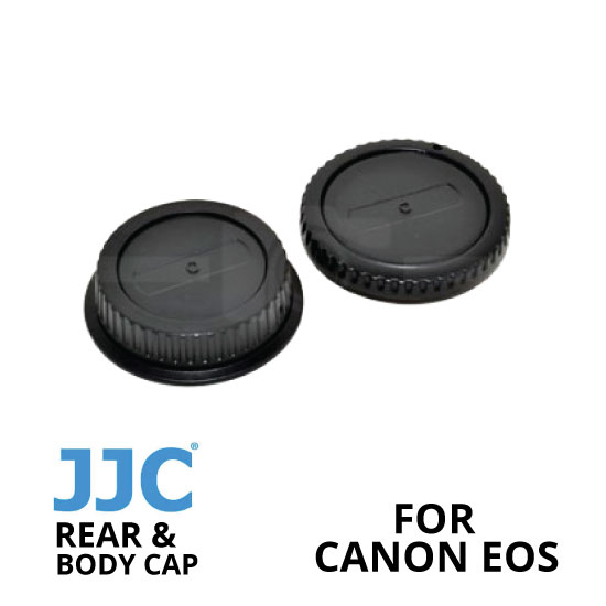 jual JJC Rear and Body Cap Canon