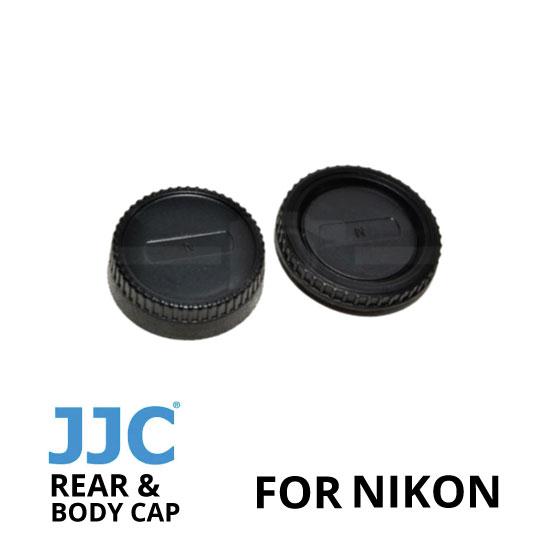 jual JJC Rear and Body Cap Nikon