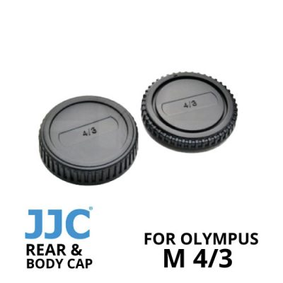 jual JJC Rear and Body Cap Olympus M4/3