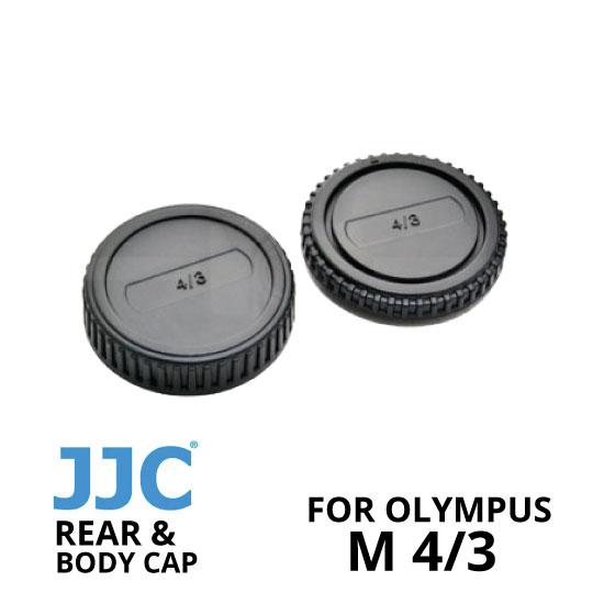 jual JJC Rear and Body Cap Olympus M4/3