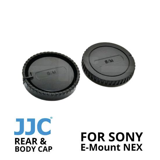 jual JJC Rear and Body Cap Sony E-Mount NEX