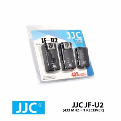 jual JJC Trigger JF-U2 (433 Mhz + 1 Receiver)