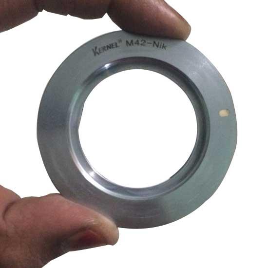 Jual Kernel Adapter M42 to Nikon Silvery Body