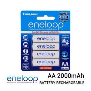 Jual Panasonic Eneloop AA 2000mah isi 4 Baterai Harga Murah dan Spesifikasi