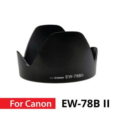 Jual Canon Lens Hood EW-78B II untuk Lensa EF diameter 28-135mm diafragma f3.5-5.6 IS USM