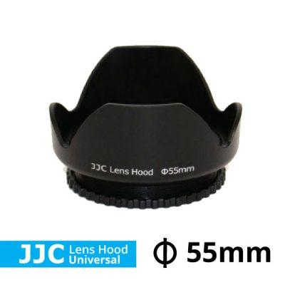 Jual Lens Hood Untuk Lensa Kamera DSLR JJC Lens Hood Universal Ukuran 55mm