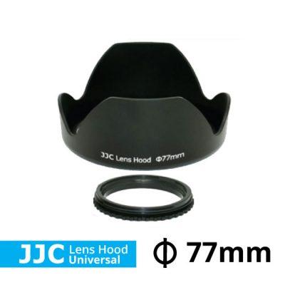 jual lens hood universal flower ukuran 77mm