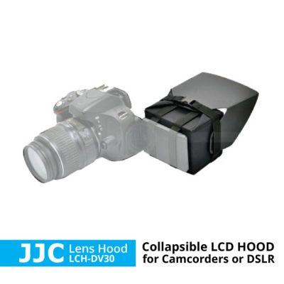 jual lens hood lcd untuk kamera dslr atau camcorder