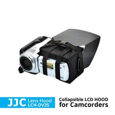 lens hood lcd untuk camcorder